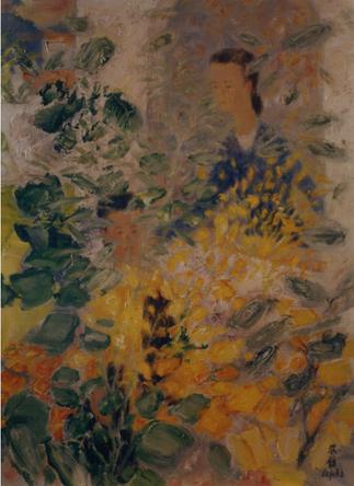 1968 UN TABLEAU DE LE PHO (1907-2001) AMI DE NAM SON.