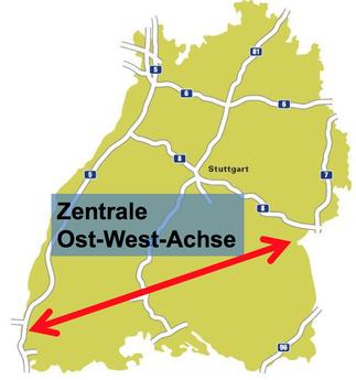 Autobahnen in Baden-Württemberg