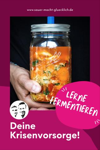 Deine Krisenvorsorge - Lerne fermentieren!