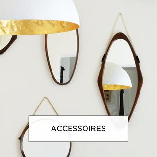 Miroirs, vases, céramiques, accessoires vintage à emporter