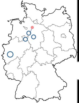 Job, Kinderwelten, Kinderwelten Wendland,  Verteilung, Deutschland