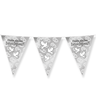 Vlaggenlijn party Hulde aan het Bruidspaar Duiven 10 m €2,50