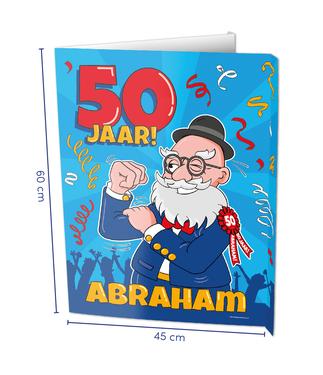 Raambord Abraham cartoon € 8,95 60x45cm