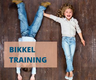 Bikkeltraining weerbaarheidstraining voor kinderen vanaf 4 jaar voor meer zelfvertrouwen