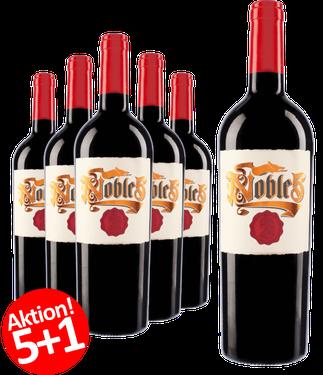 6-er Weinpaket Budureasca Noble 5 - Cuvee 2015