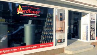 Nordfeuer GmbH Ausstellungsräume für Nordland Heizgeräte