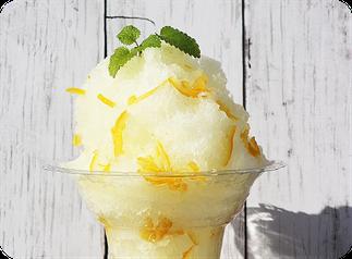 レモンかき氷
