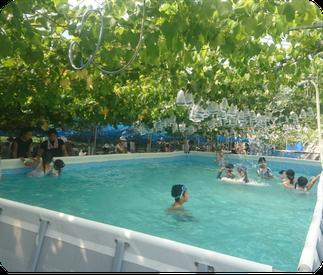 プール・噴水遊び