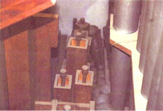 zu eng stehende Pfeifen, Klais-Orgel, Hl. Dreifaltigkeit, Orgelförderverein