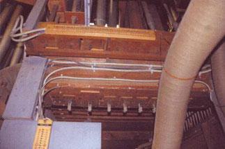 Registerrelais, Klais-Orgel, Hl. Dreifaltigkeit, Orgelförderverein