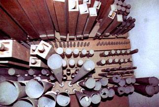 umkippende Becher-Pfeifen, Klais-Orgel, Hl. Dreifaltigkeit, Orgelförderverein
