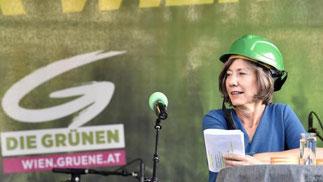 Wiens Viceborgmester Birgit Hebein fra partiet Die Grünen