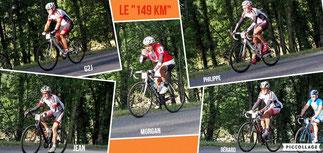 """Les courageux du """"150km"""""""