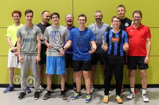Gruppenbild Badminton