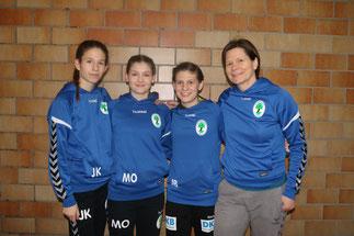 Jasmin Kellner, Mia Ostermann, Jani Böhme, Sybille Gruner