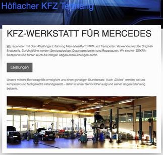 Mercedes Werkstatt Tettnang
