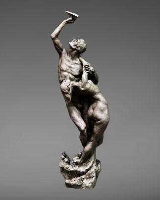 """""""The Unbearable Lightness"""", sculpture by Alexandra Slava"""