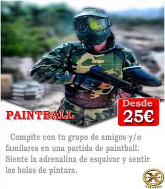 Jugar una partida de paintball en Cádiz