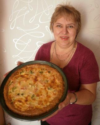Bild: Capelle's Backform mit Lachs-Brokkoli-Torte
