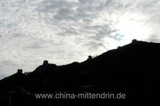 Die Große Mauer von China.