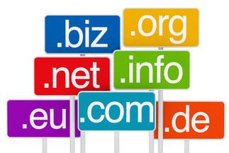 Eigene Webseite Domain