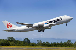 CV Chairman Helminger supports the transfer of more 747-400Fs from Cargolux to Cargolux Italia  /  company courtesy