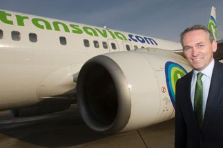 Bram Graeber will take over Eric Varwijk's chair – at least for some months  /  courtesy Transavia.