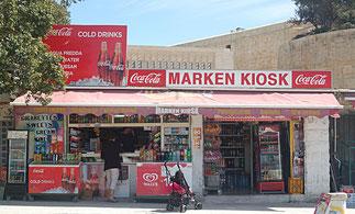 Kiosk auf Malta