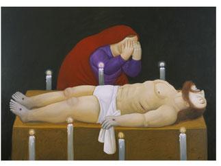 Cristo è morto, F. Botero