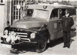 Opel-Blitz, Löschfahrzeug mit Vorbaupumpe