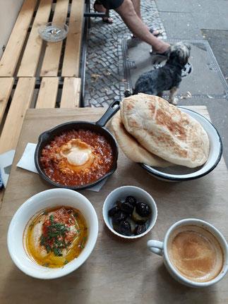 Israeli Brunch From Tel Aviv with Love © Shay Dashevsky