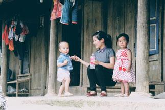 Wanderung-Pha-Din-Pass-zwischen-Son La-Dien  Bien Phu-Rundreise-Nordvietnam-Reisebericht