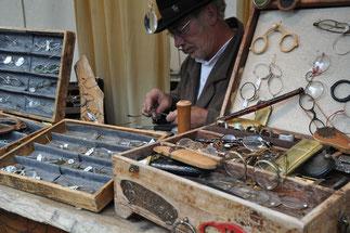 Historischer Markt Bad Essen - Brillenmacher