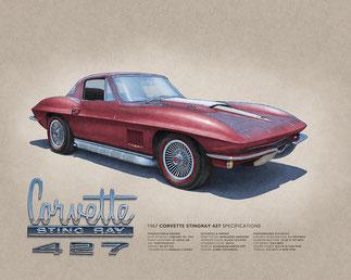 Corvette Sting Ray 427 1967