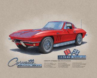 Corvette Sting Ray 396 1965