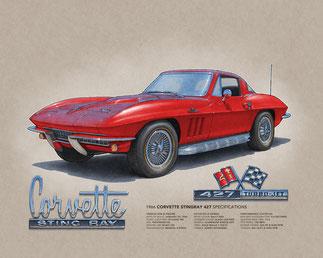 Corvette Sting Ray 427 1966