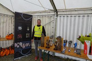 Anthony Vervial est le président du Racing Club Dormans.