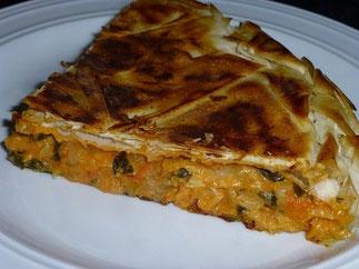 Spinat Bacalhau Tarte