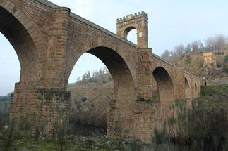 El puente romano de Alcántara, en Cáceres. /© Antonio Pizzo