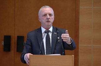 Депутат Государственной Думы, Герой Российской Федерации Игорь Станкевич
