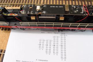 Piko T669 mit neuer PLuX 22 Stiftleiste