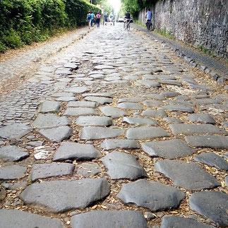 экскурсия по Аппиевой дороге в Риме, фото