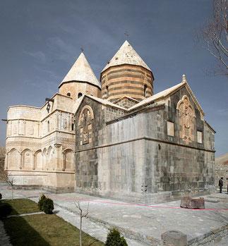 St. Thaddäus Kloster im heutigen Iran (der Überliefe- rung nach 66 n. Chr. vom Apostel Thaddäus gegründet)