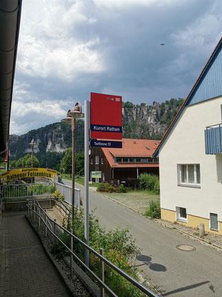 Kurort Rathen, Wanderschiffe, Fähren, Bahnhof, Bad Schandau , Busbahnhof