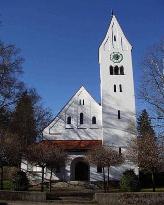 Foto der Dreifaltigkeitskirche Schongau