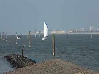 Blick auf Norderney - Foto: Nobrook