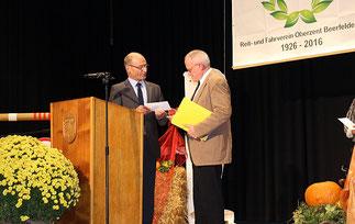 Auszeichnungen für den Beerfeldener Reit- und Fahrverein