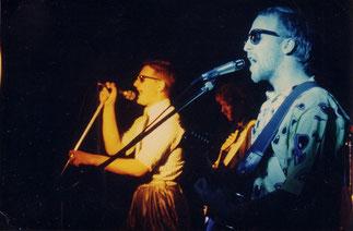 """""""Aus der Dose"""" (links Schmittie, rechts Jay) 1986"""