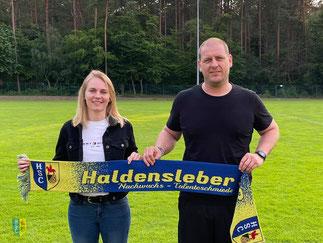 v.l. Melanie Vogelhuber, Michael Böhm