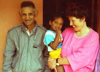 der kleine Pedro war der Stolz der ganzen Familie